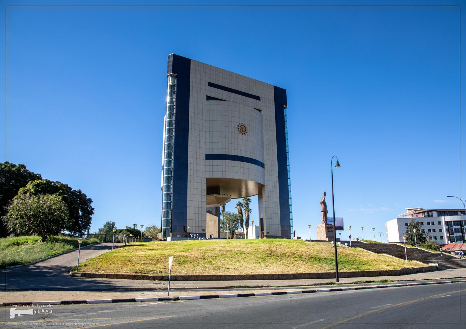 The National Museum in Namibia's capital, Windhoek