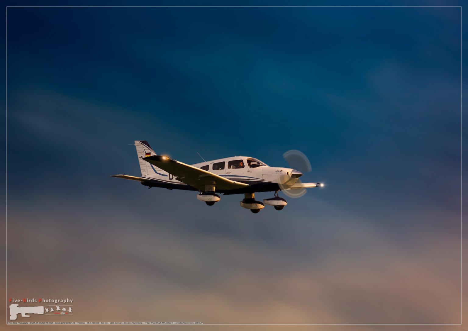 Piper PA-28-181 Archer III - Aeroclub Nueremberg - D-ENUP