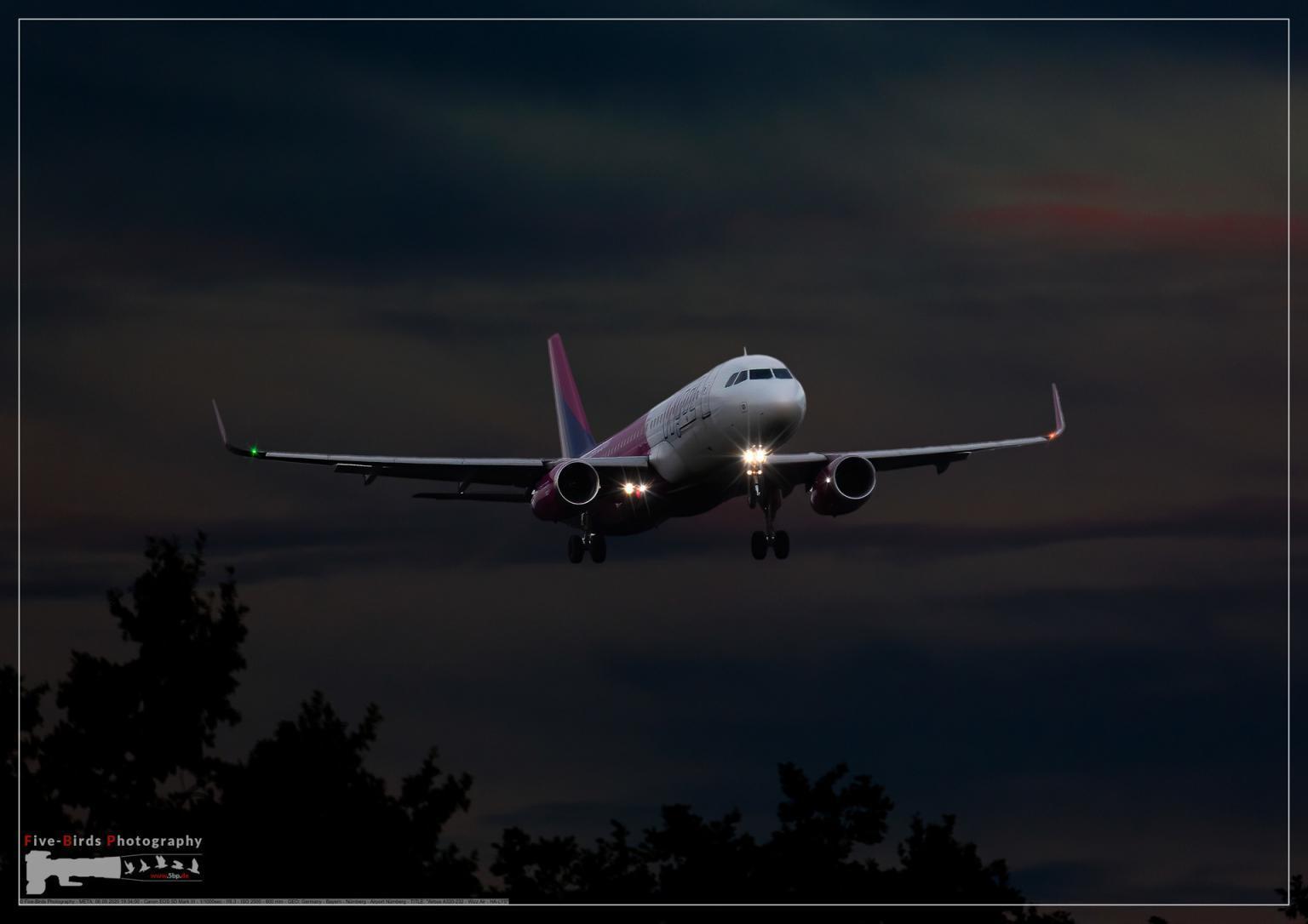 Airbus A320-232 - Wizz Air - HA-LYS