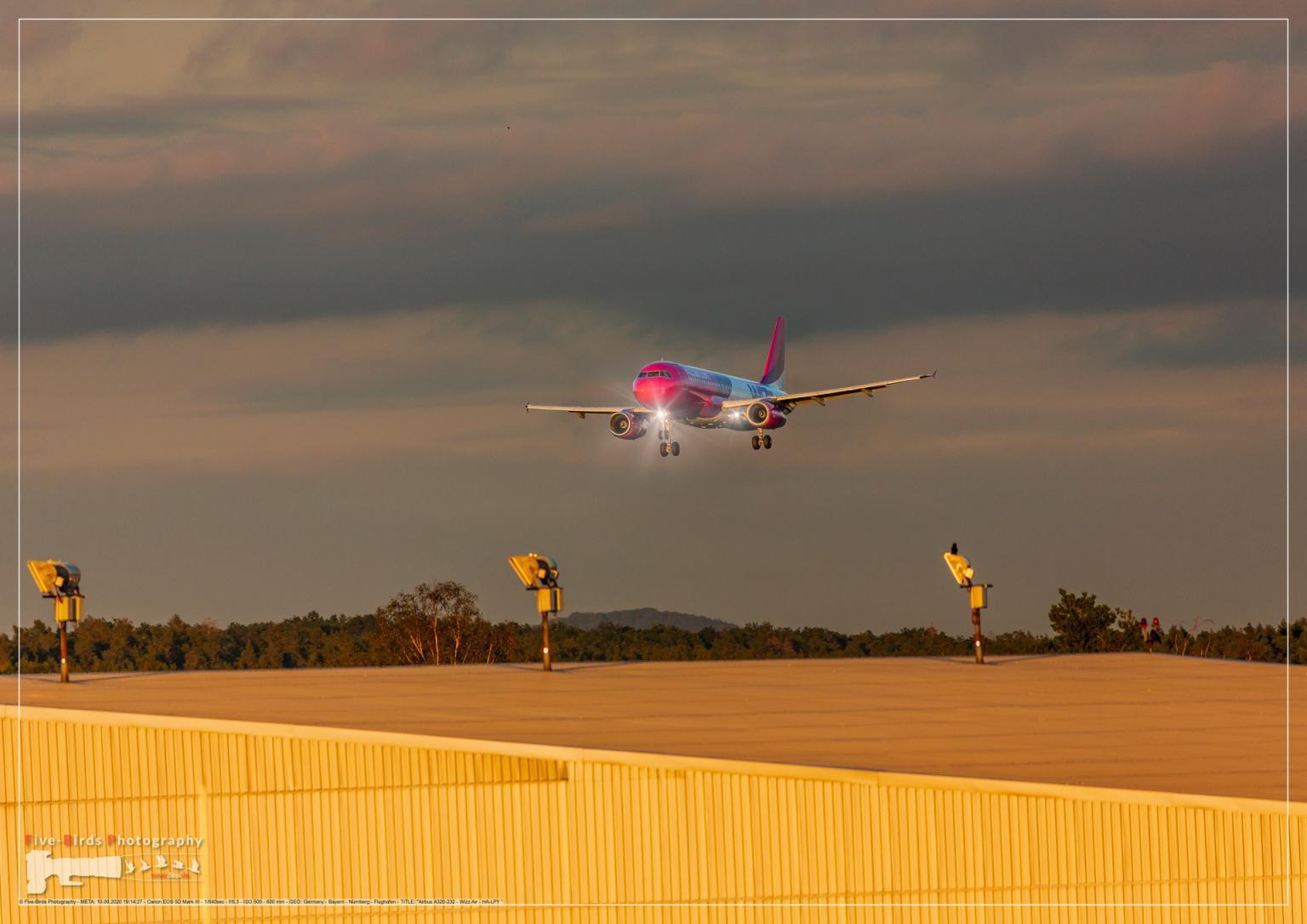 Airbus A320-232 - Wizz Air - HA-LPY