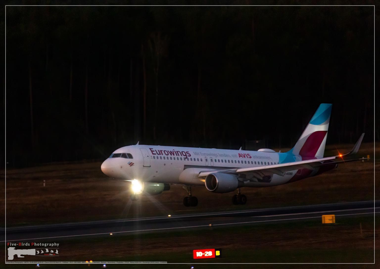 Airbus A320-214 - Eurowings (AVIS Livery) - D-AEWS