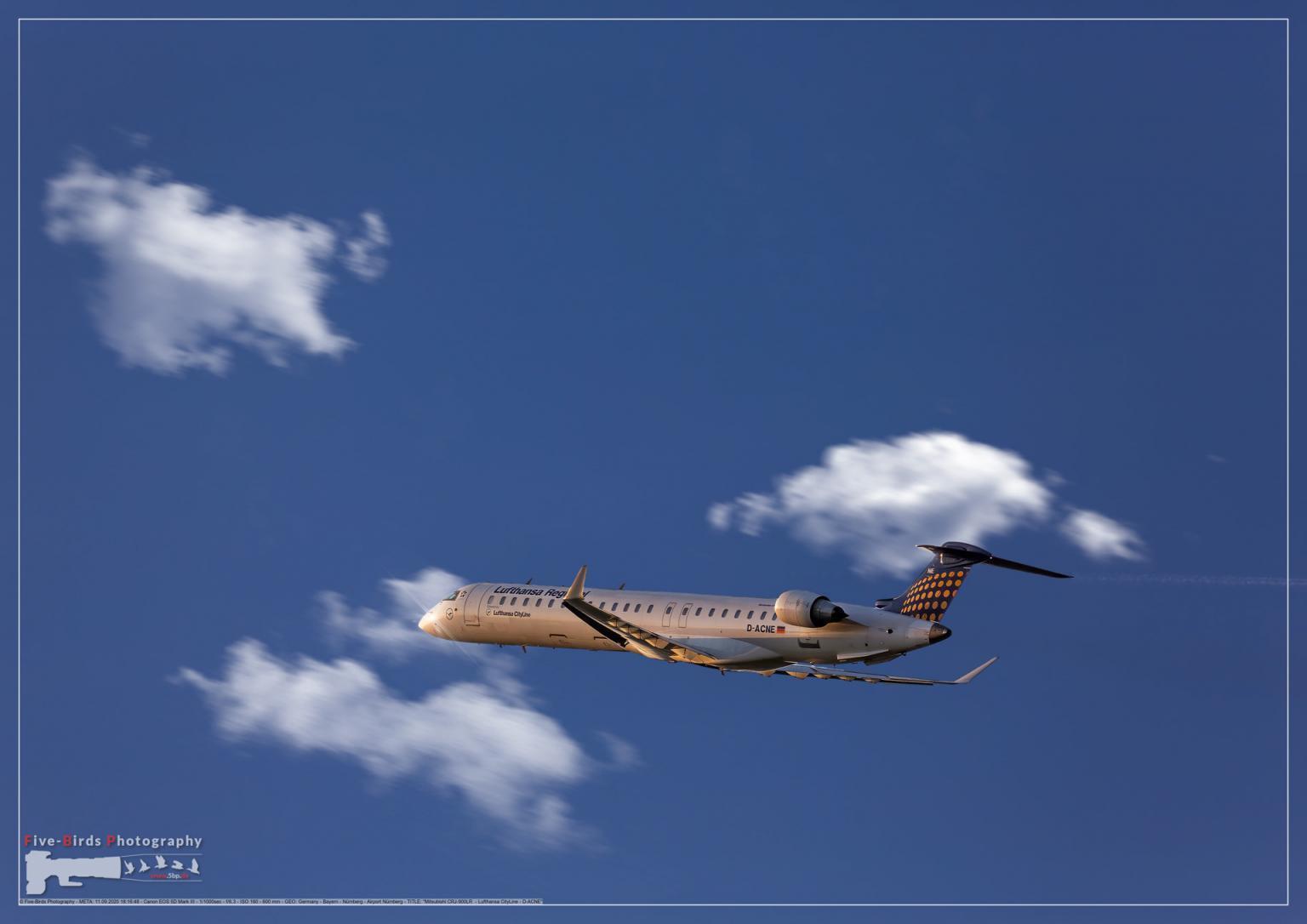 Mitsubishi CRJ-900LR - Lufthansa CityLine - D-ACNE