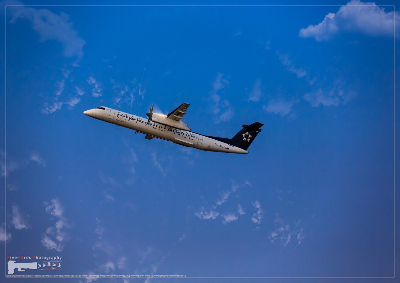 De Havilland Canada Dash 8-400 - Austrian Airlines (Star Alliance Livery) - OE-LGQ