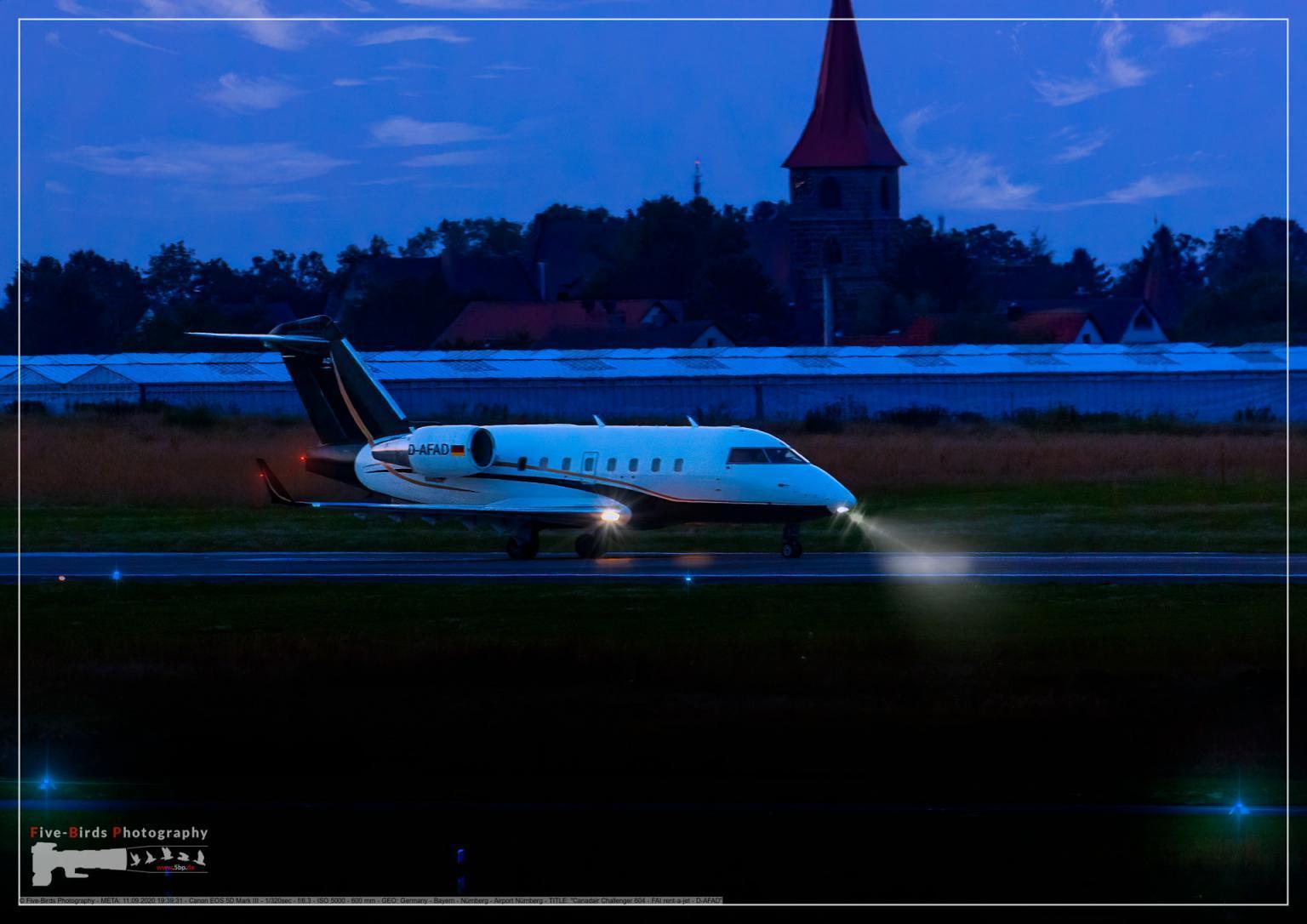 Canadair Challenger 604 - FAI rent-a-jet - D-AFAD